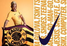 It's been a heady few days for Kaizer Chiefs as Giovanni Solinas is the new coach, they won the Maize Cup and now have a new kit. Football Cards, Football Players, Kaizer Chiefs, Football Mexicano, Soccer Teams, Everton Fc, Man Go, Club, Sports Shirts