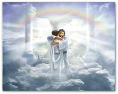 We are received into Heaven by Jesus himself
