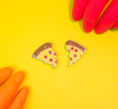 PFF pins (that means PIZZA FRIENDS FOREVER!) There's, like, at least one person in the world you'd share half of your pizza with, right? Or keep both, I
