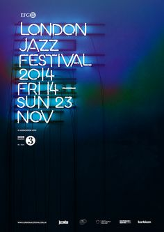 EFG London Jazz Festival on Behance