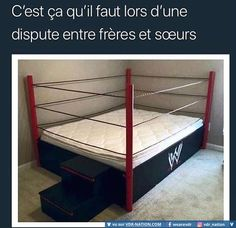 A wrestling ring bed would be a great addition to the spare room Wwe Bedroom, Kids Bedroom, Bedroom Ideas, Kids Rooms, Bedroom Decor, Boy Bedrooms, Bed Ideas, Master Bedroom, Chambre Wwe