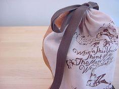Sweet handmade gift packaging.