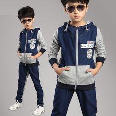 Похожее изображение Toddler Boys, Kids Boys, Boys Tracksuits, Boy Outfits, Fashion Outfits, Kids Clothes Boys, Denim Patchwork, Kids Sports, Kids Wear