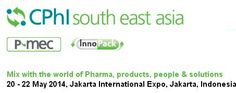 CPhI South East Asia helps expand the professional network in the Association of Southeast Asian Nations (ASEAN) pharma market,  Location INDONESIA    Jakarta International Expo, Jakarta, Indonesia. Email ID : scott.donovan@ubm.com URL : http://www.cphi.com/asean/home Contact Person : Scott Donovan Phone No : +31 20 40 99 529  Date & time Start Time Tuesday, May 20th, 2014,12:00:00 AM End Time Thursday, May 22nd, 2014,12:00:00 AM