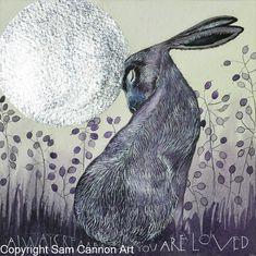 2016 originals – part 2 « Sam Cannon Art Hare Pictures, Rabbit Pictures, Art And Illustration, Sam Cannon, Rabbit Tattoos, Rabbit Art, Rabbit Crafts, 1920s Art, Bunny Art