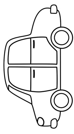 simple car coloring pages Simple car transportation coloring pages for kids, printable free  simple car coloring pages