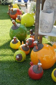 Les Poules - www.ceramosacrea.fr