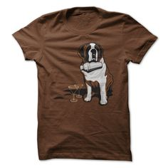 St Bernard Cocktail Rescue - What if St Bernard dogs came to the rescue with a Cosmo instead of the old fashioned rum? people would be putting themselves in more danger on purpose that's for sure! Grab this exclusive T shirt design while stocks last!
