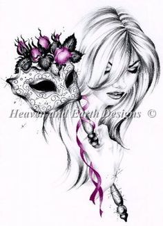 Rose Cerise Heaven and Earth Designs