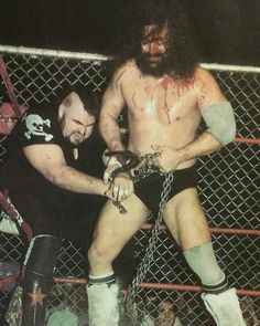 Bruiser Brody vs One Man Gang