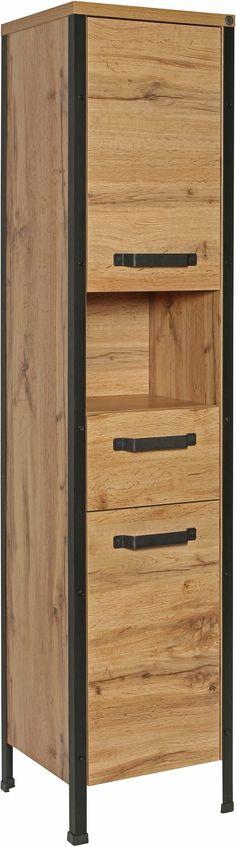 Badezimmer Hochschrank in Anthrazit 40 cm breit Jetzt bestellen - badezimmer hochschrank 40 cm breit