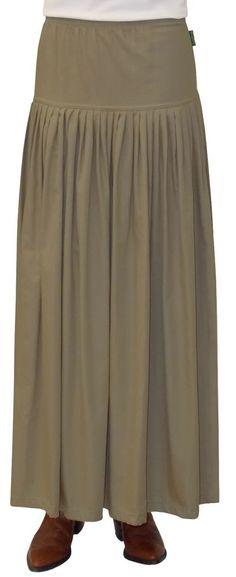 Baby'O Women's Original Biz Style Ankle Length Winter Weight Cotton Twill Skirt | eBay