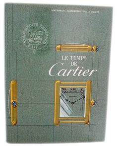 """""""Les Temps de Cartier"""" book by Jader Barracca, Giampiero Negretti, and Franco Nencini from Baer & Bosch Auctioneers.  Limited edition numbered book."""