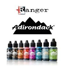 Ranger Adirondack Alcohol Inks - Australia's Largest Online Scrapbooking & Craft Superstore