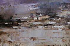 The Winter Field by Tibor Nagy Oil ~ 8 x 12
