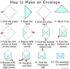 How to make an envelope out of printer paper