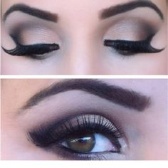 love the eye make up & the brows
