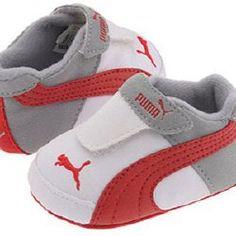 Baby Puma shoes haha
