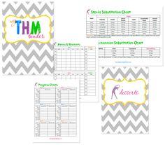 Trim Healthy Mama: Free THM Notebook Printables