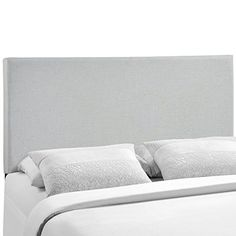 Enhance your bed of choice with a spaciously designed modern headboard. Region captures the expansive moments of restful nights with an elegance that doesn't detract from the simplicity of the design. Made of particleboard with solid wood poles and fine linen upholstery, rejoice with a... more details available at https://furniture.bestselleroutlets.com/bedroom-furniture/beds-frames-bases/headboards-footboards/headboards/product-review-for-modway-region-upholstered-linen