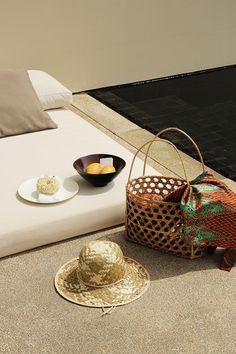 AMANSARA — In Bed With Angkor, Luxury Villa, Bathroom Accessories, Editorial Fashion, Straw Bag, Gallery, Bed, Villas, Pools