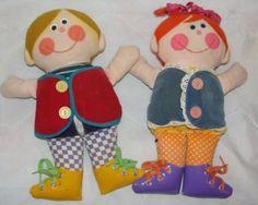Vintage Playskool Dapper Dan Dressy Bessy Teaching Doll