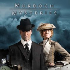 Murdoch Mysteries- totally awesome whodunnits with humour and historic flavour. Nice thing is arcs get resolved e.g. romantic interests.
