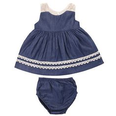 Cheap baby dress, Buy Quality baby fashion dress directly from China baby dress fashion Suppliers: Summer Baby Dress Toddler Kids Baby Girls Fashion Sleeveless Lace Blue Princess Dress+Underpants Party Wedding Pageant Dresses Sundress Outfit, Baby Outfits, Kids Outfits, Baby Summer Dresses, Baby Girl Dresses, Summer Suits, Beach Dresses, Denim And Lace, Toddler Dress