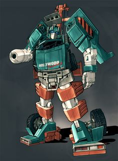 Transformers Hoist Colours by ~Blitz-Wing on deviantART