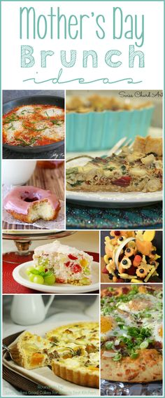 Mother's Day Brunch Ideas | MomsTestKitchen.com | #roundup