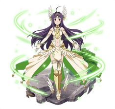 1girl ahoge bracelet elbow_gloves fingerless_gloves floating_hair full_body gloves hair_ornament jewelry long_hair looking_at_viewer midriff navel purple_hair red_eyes simple_background smile solo standing stomach sword_art_online thigh-highs very_long_hair white_background white_gloves white_legwear yuuki_(sao)