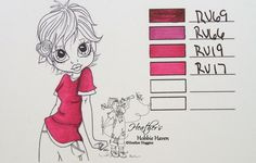 Heather's Hobbie Haven: Color Combo's Copic Markers