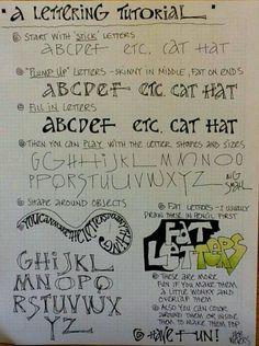 Deb Weier's lettering tutorial https://i.instagram.com/debweiersart/