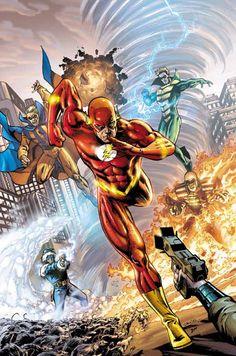 The Flash vs. Rogues by Tony Daniel