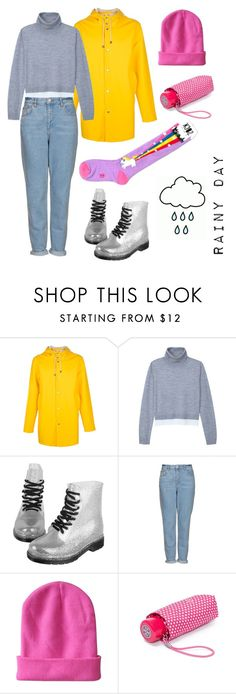 """""""Rainy day"""" by momockapai ❤ liked on Polyvore featuring Stutterheim, TIBI, Topshop and Tory Burch"""