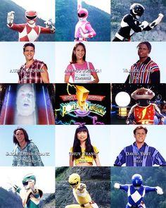 The Original Mighty Morphin Power Rangers *wow. Power Rangers In Space, Go Go Power Rangers, Power Rangers Movie, Original Power Rangers, Tommy Oliver, Pawer Rangers, Fox Kids, Green Ranger, Flavio