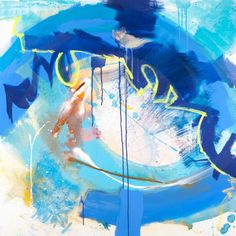 Abstract Painting By Boston Artist Steve Barylick #webstercompany #websterartproject