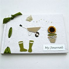 Garden Themed Journal