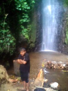 Air terjun Selo leter dan watu lumbung