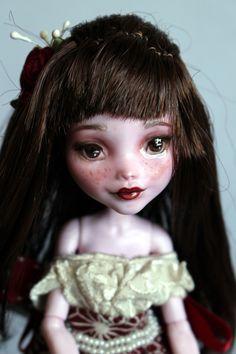 https://flic.kr/p/Vb93EG | Lily - custom OOAK Monster High Doll repaint | www.etsy.com/uk/listing/534640801/lily-custom-ooak-monste...