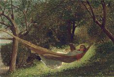 Winslow Homer - Girl in the Hammock - Winslow Homer - Wikipedia, the free encyclopedia