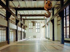 Die Industriehalle ewerk Berlin // The industrial hall ewerk Berlin #Location #Events #Berlin
