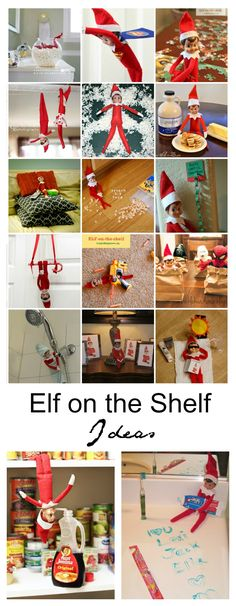 Elf on the Shelf | Sharing 25 creative Elf on the Shelf Ideas that your family are sure to look forward to and bring a smile to their faces each day.