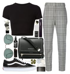 """""""parade with me"""" by velvet-ears ❤ liked on Polyvore featuring Alexander Wang, Getting Back To Square One, Vans, Givenchy, Ray-Ban, INIKA, Aesop, Korres, African Botanics and Jack Wills"""