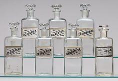 12x creatief met vintage apothekersflesjes