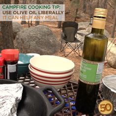 7 Tips To Become A Campfire Cooking Master - 50 Campfires