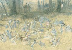 "Richard Doyle (1824-1883), ""The fairy ball""   Flickr - Photo Sharing!"