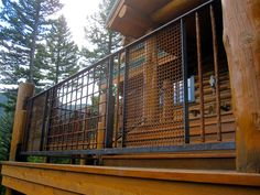 Custom-Crafted-Railing-Reclaimed-Industrial-Gravel-Screen-of-Various-Sizes_Montana1.jpg (960×720)