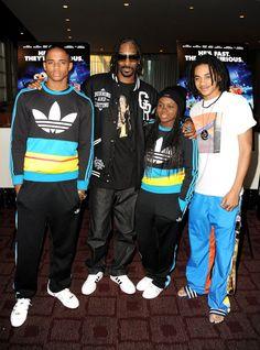 Snoop Dogg wearing adidas Originals Superstar.
