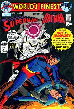 Pencils & inks by NEAL ADAMS . Images copyright DC COMICS F or all discriminating connoisseurs of comicbook cover art, here's a...